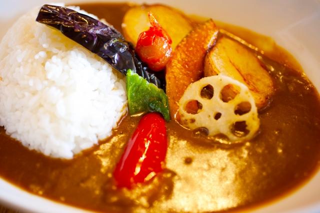 材 具 野菜 カレー