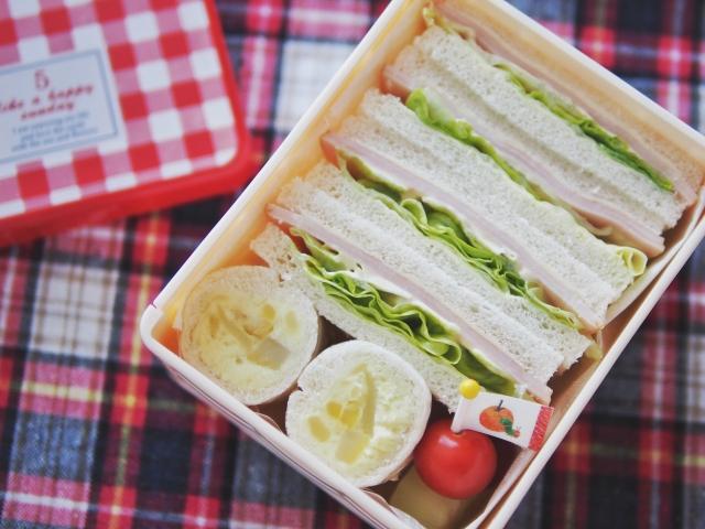 弁当 サンドイッチ お