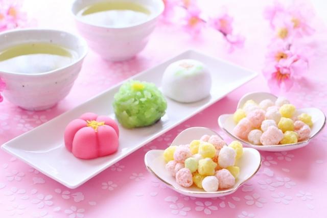 ひな祭りのお菓子